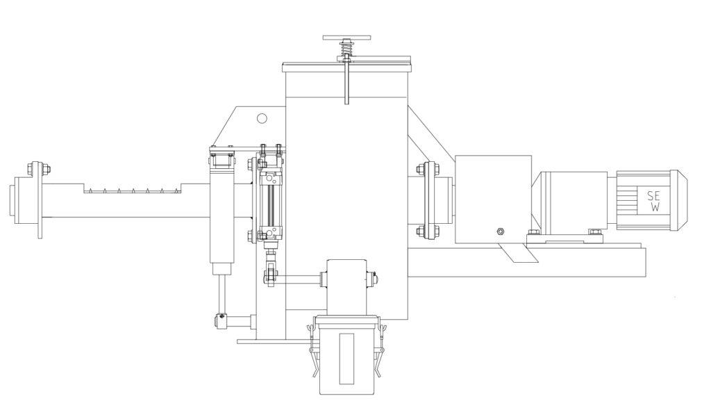 Screw Sampler Mixing Tank (SMX)