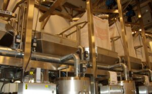 Coloplast – Adhesive filling and Big Bag machines - Co-operation since the 1970's