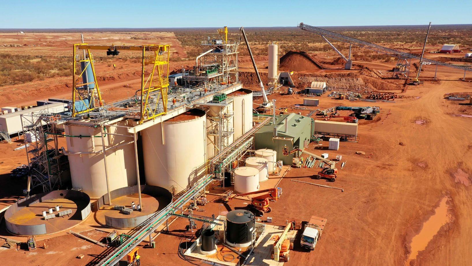 Karlawinda gold mining project (Australia)